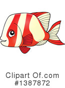 Fish Clipart #1387872 by visekart