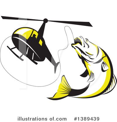 Barramundi Clipart #1389439 by patrimonio