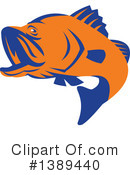 Fish Clipart #1389440 by patrimonio