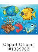 Fish Clipart #1389783 by visekart
