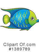 Fish Clipart #1389789 by visekart