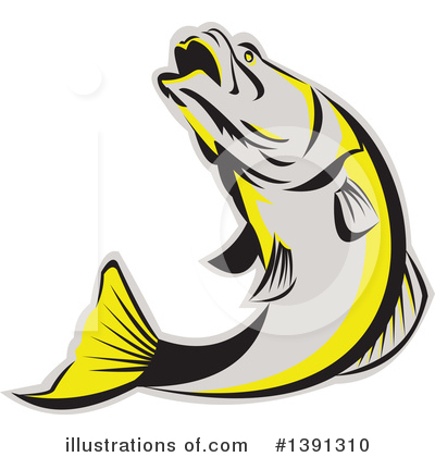Barramundi Clipart #1391310 by patrimonio