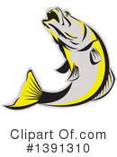 Fish Clipart #1391310 by patrimonio