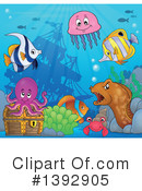 Fish Clipart #1392905 by visekart