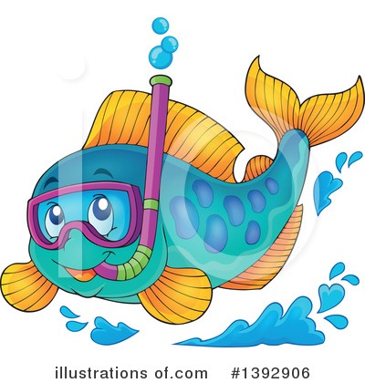 Fish Clipart #1392906 by visekart