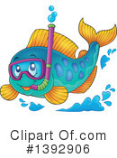 Royalty-Free (RF) Fish Clipart Illustration #1392906