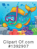 Fish Clipart #1392907 by visekart