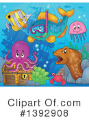 Fish Clipart #1392908 by visekart
