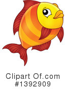 Fish Clipart #1392909 by visekart