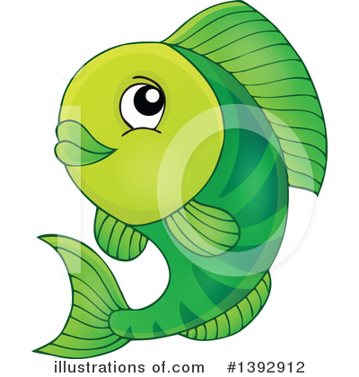 Fish Clipart #1392912 by visekart