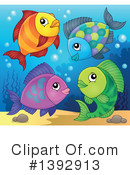 Fish Clipart #1392913 by visekart