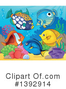 Fish Clipart #1392914 by visekart