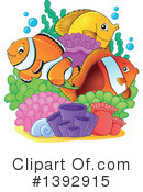 Fish Clipart #1392915 by visekart