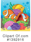 Fish Clipart #1392916 by visekart