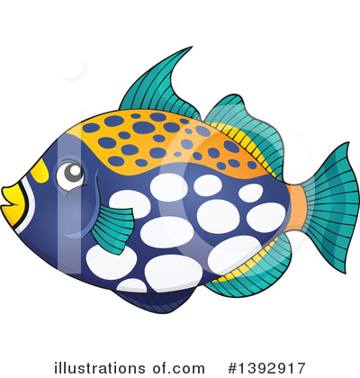 Fish Clipart #1392917 by visekart