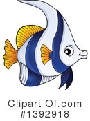 Fish Clipart #1392918 by visekart