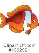 Fish Clipart #1392921 by visekart
