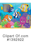 Fish Clipart #1392922 by visekart