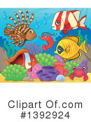 Fish Clipart #1392924 by visekart