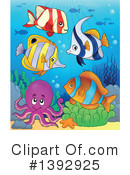 Fish Clipart #1392925 by visekart