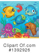 Fish Clipart #1392926 by visekart