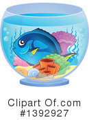 Fish Clipart #1392927 by visekart