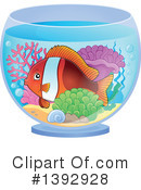 Fish Clipart #1392928 by visekart