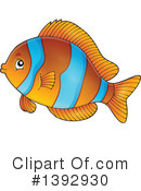 Fish Clipart #1392930 by visekart
