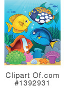 Fish Clipart #1392931 by visekart