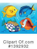 Fish Clipart #1392932 by visekart