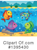Fish Clipart #1395430 by visekart