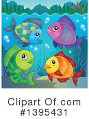 Fish Clipart #1395431 by visekart