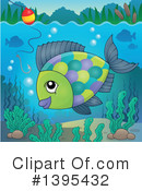 Fish Clipart #1395432 by visekart