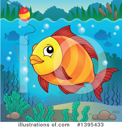 Fishing Clipart #1395433 by visekart