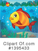 Fish Clipart #1395433 by visekart