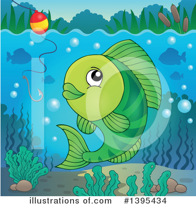 Fishing Clipart #1395434 by visekart