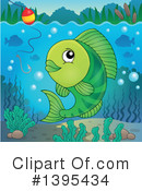 Fish Clipart #1395434 by visekart