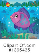 Fish Clipart #1395435 by visekart