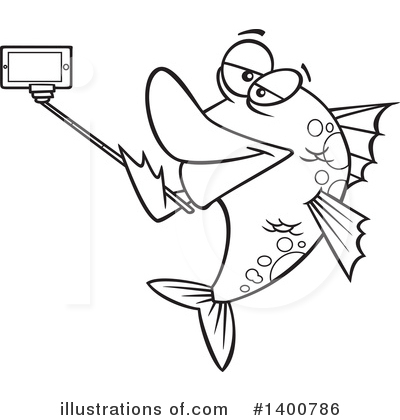 Fish Clipart #1400786 by toonaday