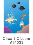 Royalty-Free (RF) Fish Clipart Illustration #14033