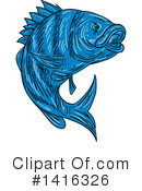 Fish Clipart #1416326 by patrimonio