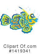 Fish Clipart #1419341 by Alex Bannykh