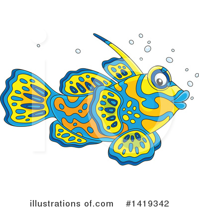 Fish Clipart #1419342 by Alex Bannykh
