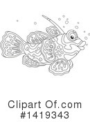 Fish Clipart #1419343 by Alex Bannykh