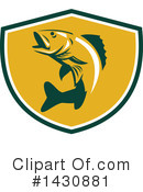 Fish Clipart #1430881 by patrimonio