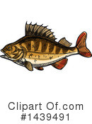 Fish Clipart #1439491 by Vector Tradition SM
