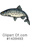 Fish Clipart #1439493 by Vector Tradition SM