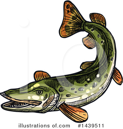 Fishing Clipart #1439511 by Vector Tradition SM
