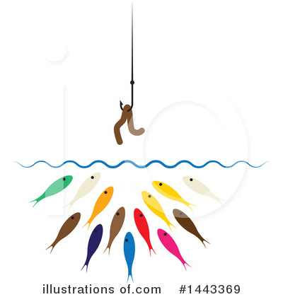 Fish Clipart #1443369 by ColorMagic