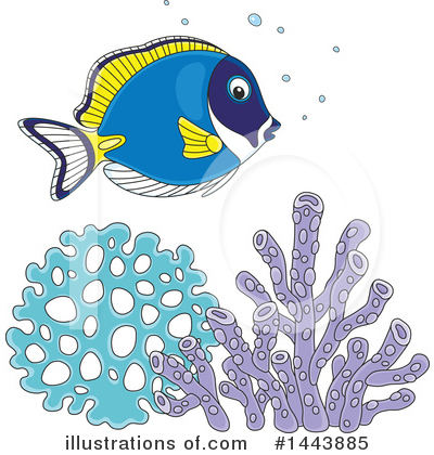 Fish Clipart #1443885 by Alex Bannykh